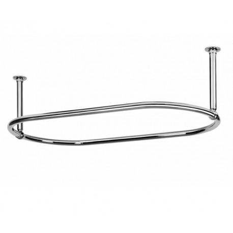 eastgate traditional large 1135mm oval chrome shower. Black Bedroom Furniture Sets. Home Design Ideas