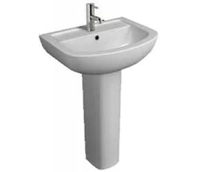 Kartell Studio 550mm 1 Tap Hole Basin and Pedestal