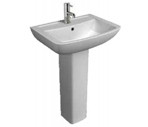 Kartell Pure 550mm 1 Tap Hole Basin and Pedestal