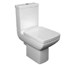 Kartell Pure Close Coupled Toilet With Soft Close Seat