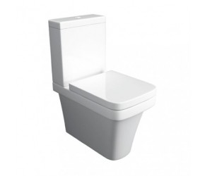 Kartell Sicily Back To Wall Close Coupled Toilet With Soft Close Seat