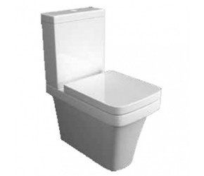 Kartell Sicily Comfort Height Close Couple Toilet With Soft Close Seat