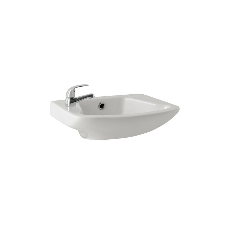 Kartell g4 465mm 1 tap hole cloakroom basin - Slim cloakroom basin ...
