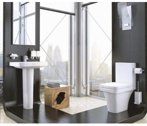 Kartell Sicily 4 Piece Bathroom Suite
