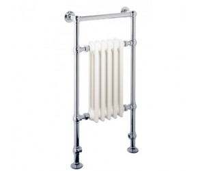Eastbrook Avon Traditional Towel Rail 960mm High x 500mm Wide