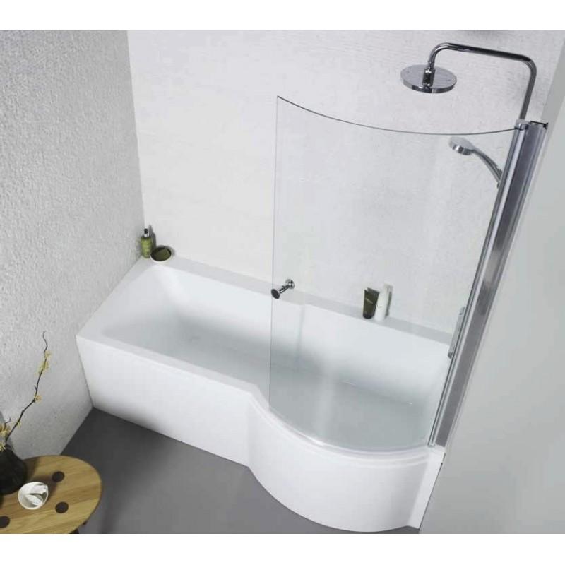 Kartell Adapt Right Hand P Shape Shower Bath