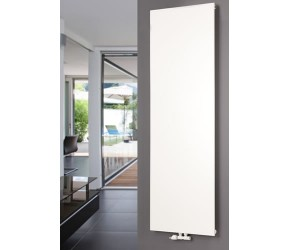 Eastgate Smooth White Vertical Flat Single Panel Designer Radiator 1200mm x 600mm
