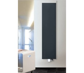 Eastgate Smooth Anthracite Flat Single Panel Designer Radiator 1200mm x 600mm