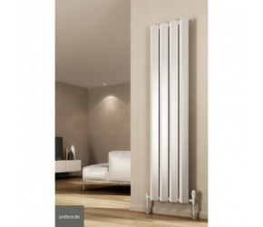 Reina Alp Anthracite Vertical Designer Radiator 1800mm High x 318mm Wide