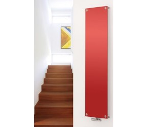 Eucotherm Mars Vitro Red Vertical Flat Panel Designer Radiator 1800mm x 445mm