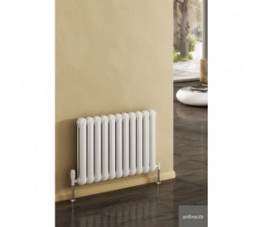 Reina Coneva Anthracite Horizontal Designer Radiator 550mm High x 440mm Wide