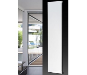 Eucotherm Mars Vitro Full Mirror Vertical Flat Panel Designer Radiator 1800mm x 445mm