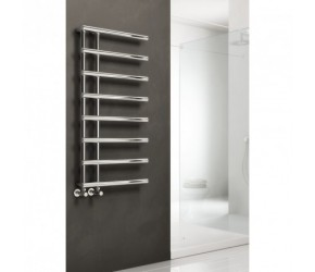 Reina Matera Chrome Designer Radiator 1412mm High x 500mm Wide