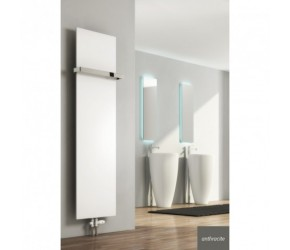 Reina Slimline Anthracite Vertical Designer Radiator 1470mm High x 400mm Wide