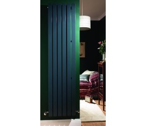 Eastgate Edge Anthracite Square Tube Vertical Designer Radiator 1800mm x 435mm