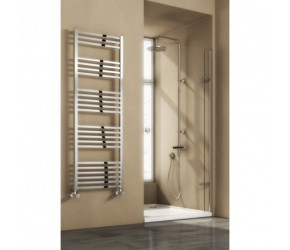 Reina Vasto Chrome Designer Radiator 1460mm High x 500mm Wide