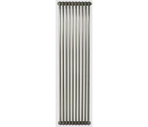 Eastgate Lazarus Raw Metal Lacquered Vertical 2 Column Radiator - 2000 x 490