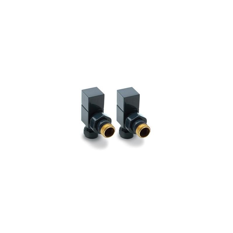 reina loge angled anthracite radiator valves. Black Bedroom Furniture Sets. Home Design Ideas