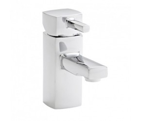 Kartell Mode Chrome Mini Mono Basin Mixer Tap With Clicker Waste