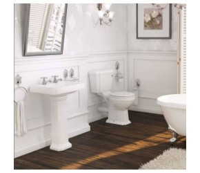 Kartell Astley Traditional 4 Piece Bathroom Suite
