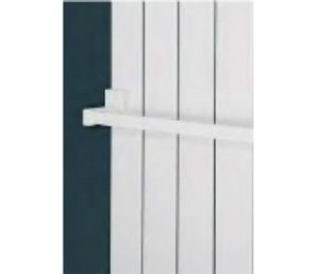 Eastgate White Magnetic Towel Rail Bar 400mm