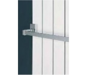 Eastgate Chrome Magnetic Towel Rail Bar 400mm