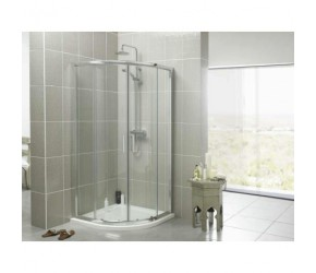 Kartell Koncept 900mm Quadrant Shower Enclosure Including Tray and Waste