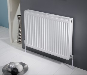 Kartell Kompact Single Panel Single Convector Radiator 400mm x 400mm