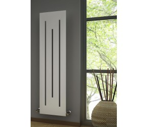 Reina Line Designer Vertical Anthracite Radiator 1800mm x 490mm