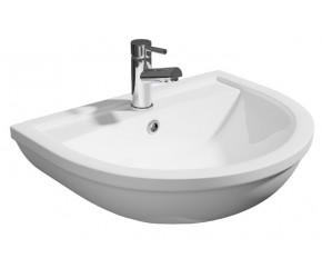 Kartell Lifestyle 500mm 1 Tap Hole Basin