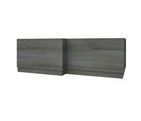 Kartell Purity 1700mm L-Shape Bath Panel Grey Ash