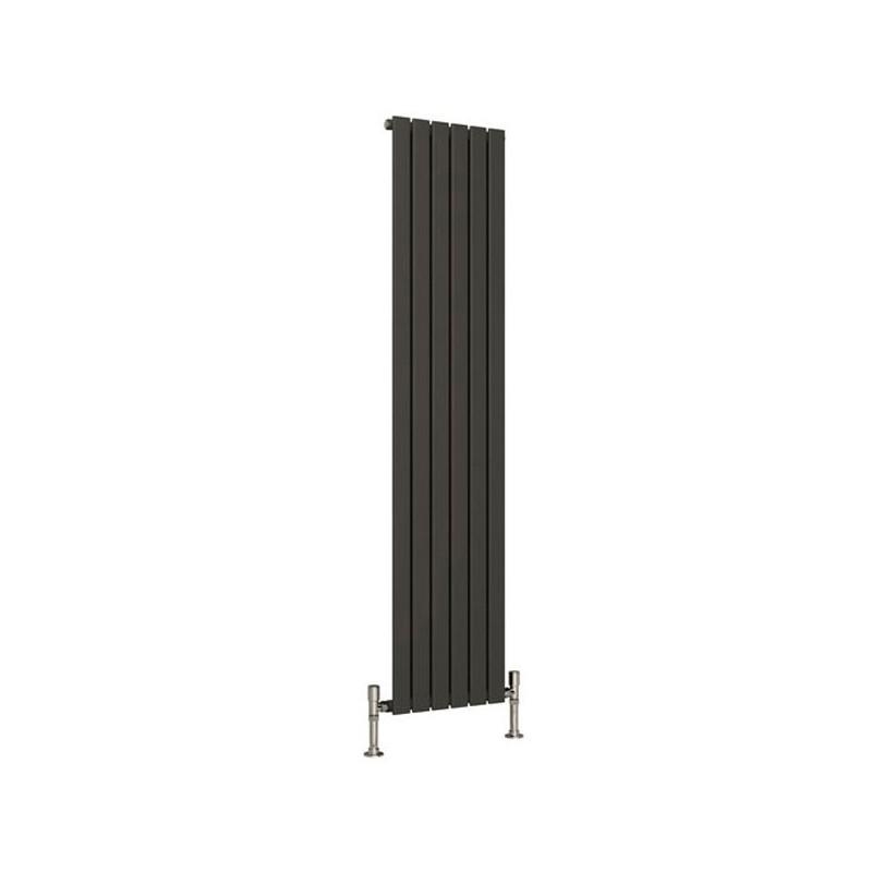 Reina Flat Single Panel Anthracite Vertical Designer