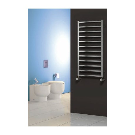 17152 Reina Arden Brushed Stainless Steel Towel Rail 1000mm High X 500mm Wide on designer bathroom radiators towel rails