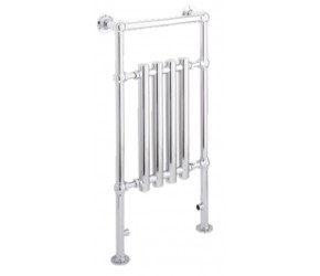 Eastbrook Frome Traditional Chrome Towel Rail 952mm High x 500mm Wide