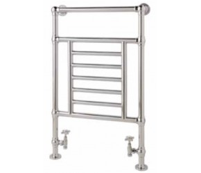 Eastbrook Sherbourne Traditional Chrome Towel Rail 960mm High x 600mm Wide