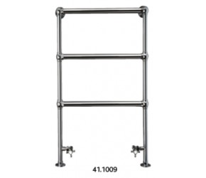 Eastbrook Windrush Traditional Chrome Towel Rail 950mm High x 500mm Wide