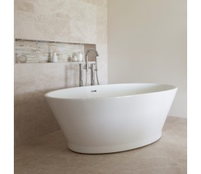 BC Designs Chalice Minor Freestanding Bath 1650mm Long x 900mm Wide