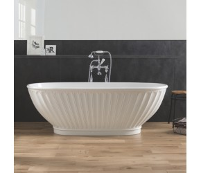 BC Designs Casini Free Standing Bath 1680mm Long x 750mm Wide