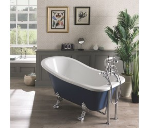 BC Designs Fordham Freestanding Rolltop Bath 1500mm x 730mm