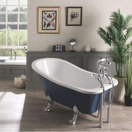 BC Designs Fordham Freestanding Rolltop Bath 1500mm x 730mm