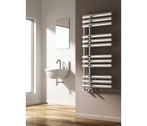 Reina Chisa Chrome Designer Towel Rail 1130mm x 500mm