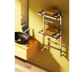 Reina Elvina2 Chrome Towel Rail Rack 1000mm x 500mm
