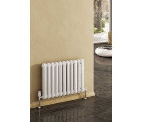 Reina Coneva Anthracite Horizontal Column Radiator 550mm 1420mm