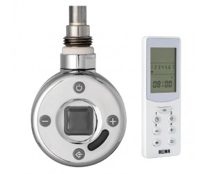 Reina Thermostatic Chrome Element 300W with Remote Control