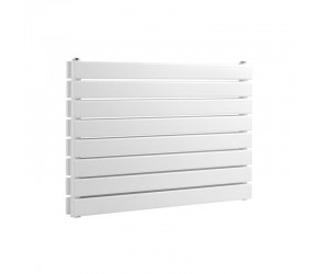 Reina Rione White Double Panel Horizontal Radiator 544mm x 1400mm