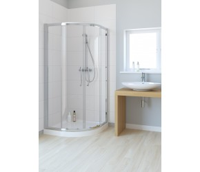 Lakes Classic Double Door Offset Quadrant Shower Enclosure 1200mm x 900mm