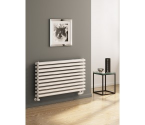 Reina Roda White Single Panel Horizontal Radiator 590mm x 600mm