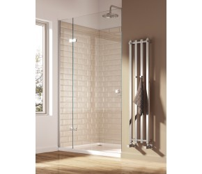 Reina Todi Designer Chrome Radiator 800mm x 108mm