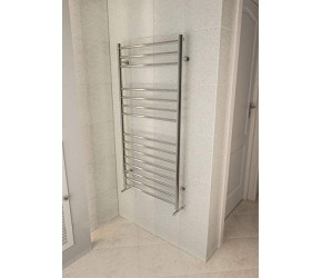 Eastbrook Violla Polished Stainless Steel Towel Rail 1210mm 500mm