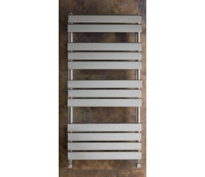 Eastbrook Staverton Chrome Tube on Tube Towel Rail 1200mm x 400mm